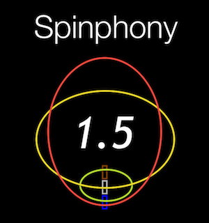 Spinphony icon by M. Nilsen